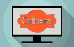 culinary - stock illustration
