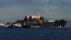 Alcatraz Blues HD Stock Footage