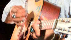 Acoustic Guitar Player III HD - stock footage