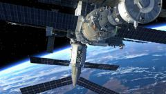 Space Station Stock Footage
