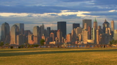 Post 911 New York City Panoramic HD Stock Footage