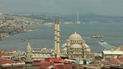 Timelapse over Istanbul Stock Footage