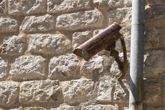 Stock Photo of surveillance camera