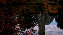 Scenes from Central Park in New York City during Fall Stock Footage