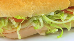 Sandwich Zoom Out Stock Footage