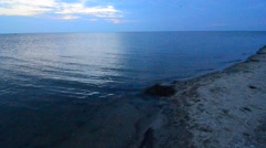 Cape Hatteras National Seashore on Hatteras Island North Carolina USA Stock Footage
