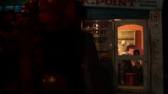 A glimpse inside a shop Stock Footage