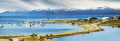 ushuaia, argentina. - stock photo