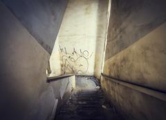 Old Abandoned Interior Photo Stock Photos