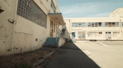 Abandoned Naval Buildings Stock Footage