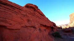 Valley of Fire State Park, Nevada, USA Stock Footage