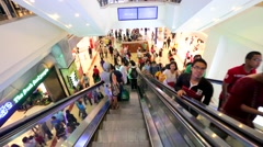 People at Suria KLCC Stock Footage