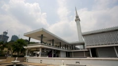 National Mosque of Malaysia. Stock Footage