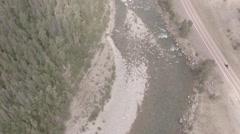 Birds Eye of Scenic Vista  Stock Footage