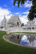 Wat Rong Khun. Chiang Rai Thailand Stock Photos