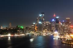 circular quay - stock photo