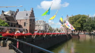Stock Video Footage of Flags in The Hague, Holland