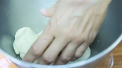 Food Pizza Recipe for true Italian pizza oven home Stock Footage