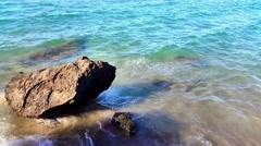 Beautiful beach view Stock Footage