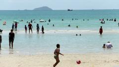 Paradise At The Beach In Thailand Stock Footage