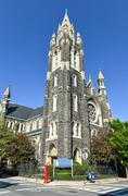 Saint agnes, roman catholic church, brooklyn, ny Stock Photos