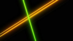 Glowing Quantum VJ Background 8 - stock footage