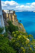 procida beautiful italian island - stock photo