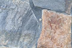 uneven stone surface. - stock photo