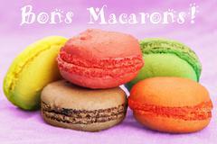 Stock Illustration of homemade macaroons