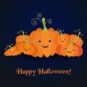 Illustration for the celebration of Halloween Stock Illustration