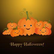 Illustration for the celebration of Halloween - stock illustration
