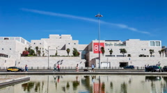 Stock Video Footage of Centro Cultural de Belem in Lisbon