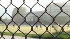 Maidan Football Game Stock Footage