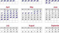Stop motion animation of a calendar year. Stock Footage