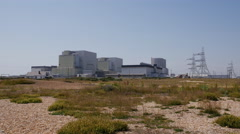 Dungeness Power Station Stock Footage