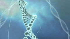 DNA Strands HD Stock Footage