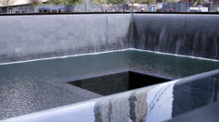 911 Nine Eleven Memorial Plaza View HD Stock Footage