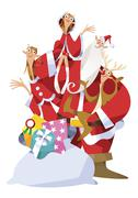 Christmas - stock illustration