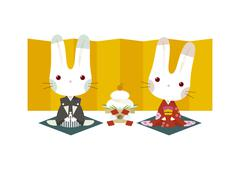 Stock Illustration of Year of the Rabbit