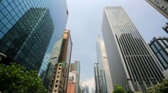 Hong Kong cityscape Stock Footage