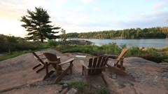 Ontario Cottage Country Stock Footage