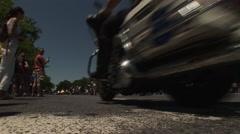 Rolling Thunder invades Washington DC Stock Footage