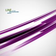 Vector color abstract beautiful twirl line eps Stock Illustration
