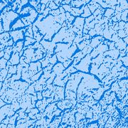 Simple vector background of old cracked paint - stock illustration