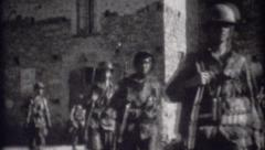 World War 2 - Archival footage of Soldiers - stock footage