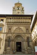 City of Arezzo,Tuscany,Italy - stock photo