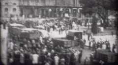 World War 2 - Civil Unrest 2 - stock footage