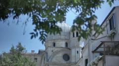Dome of Santa Maria dei Miracoli - 29,97FPS NTSC Stock Footage