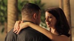Couples Dance Stock Footage