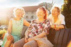 Senior women Stock Photos